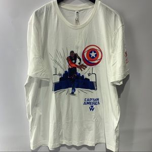 Adidas Marvel Captain America x John Wall Tee 2XL